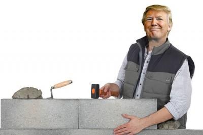 Build the Trump wall for £5.2m per mile