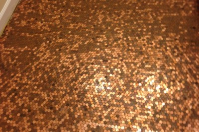 Penny Floor With Stars