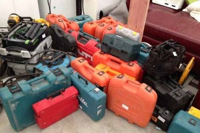 Tradespeople fighting back against rising tool theft