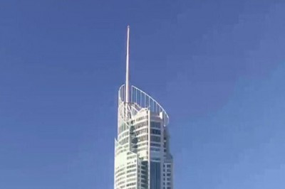 Aussie Painters Film Work from Country's Tallest Building