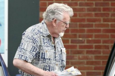 Rolf Harris Labelled A Dirty B****** on His DIY Shopping Trip