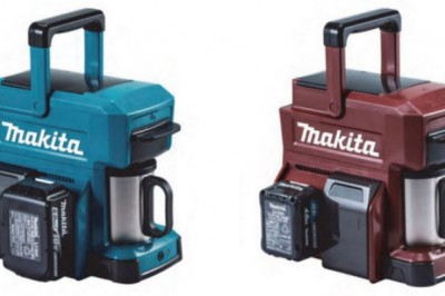 Makita Releases Building-Site-Proof Coffee Maker