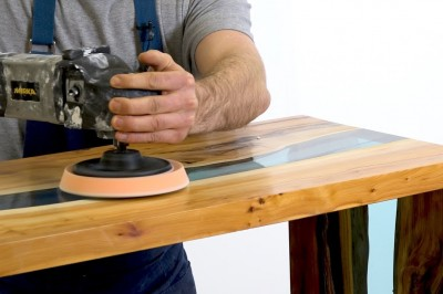 How to build a resin river table
