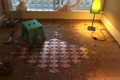 Penny Floor Template and Materials List