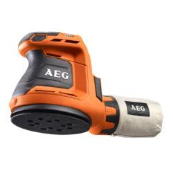 Lixadora Rotorbital a bateria AEG