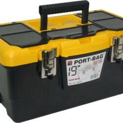 "CAIXA PL-ISI-19"" META F/METAL PORT-BAG"