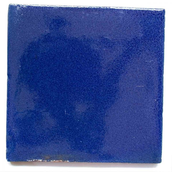 cobalt blue hand made wall tiles
