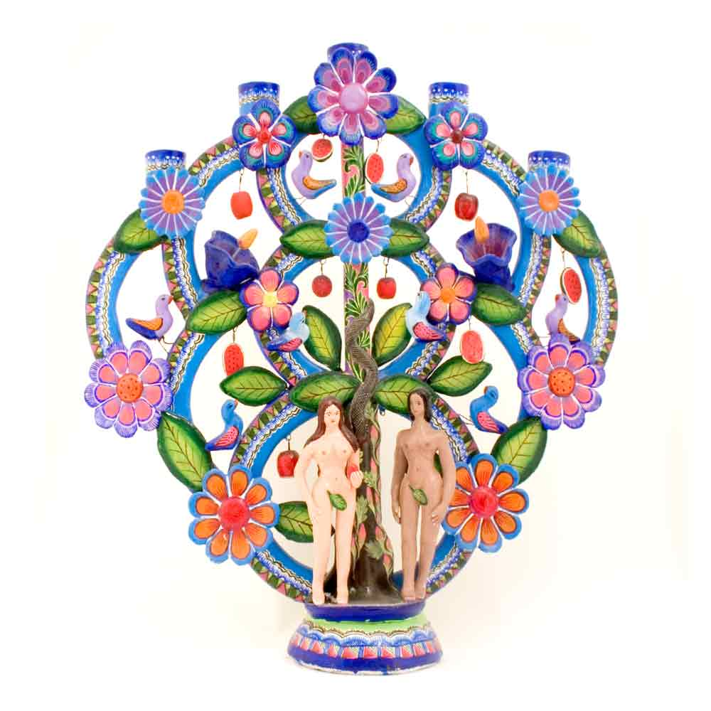 trees of life Mexican folk art