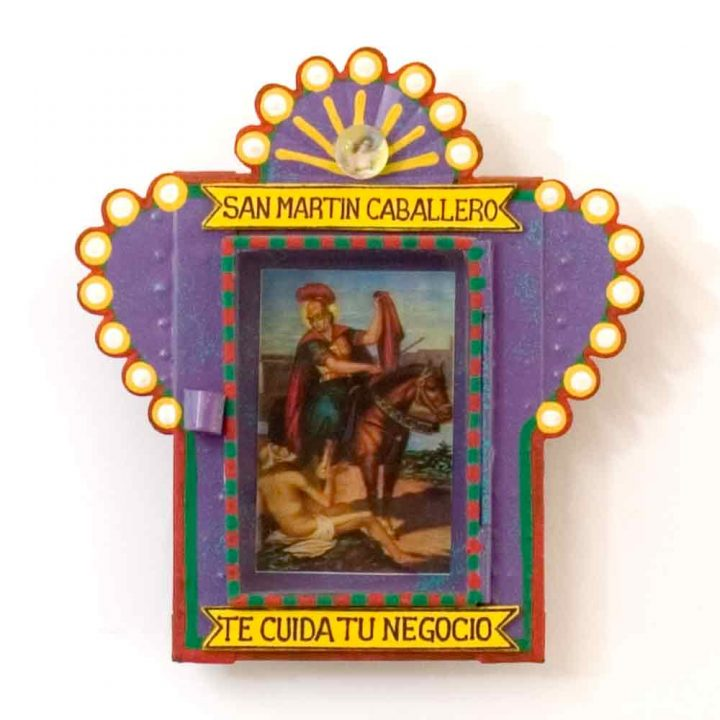 San Martin caballero niche hand made in Mexico
