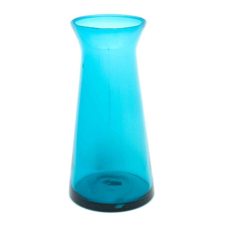 turquoise vase hand made in mexico