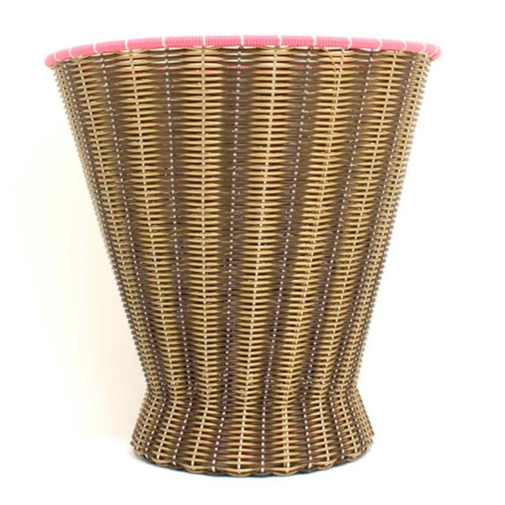 chocolate and gold paper basket
