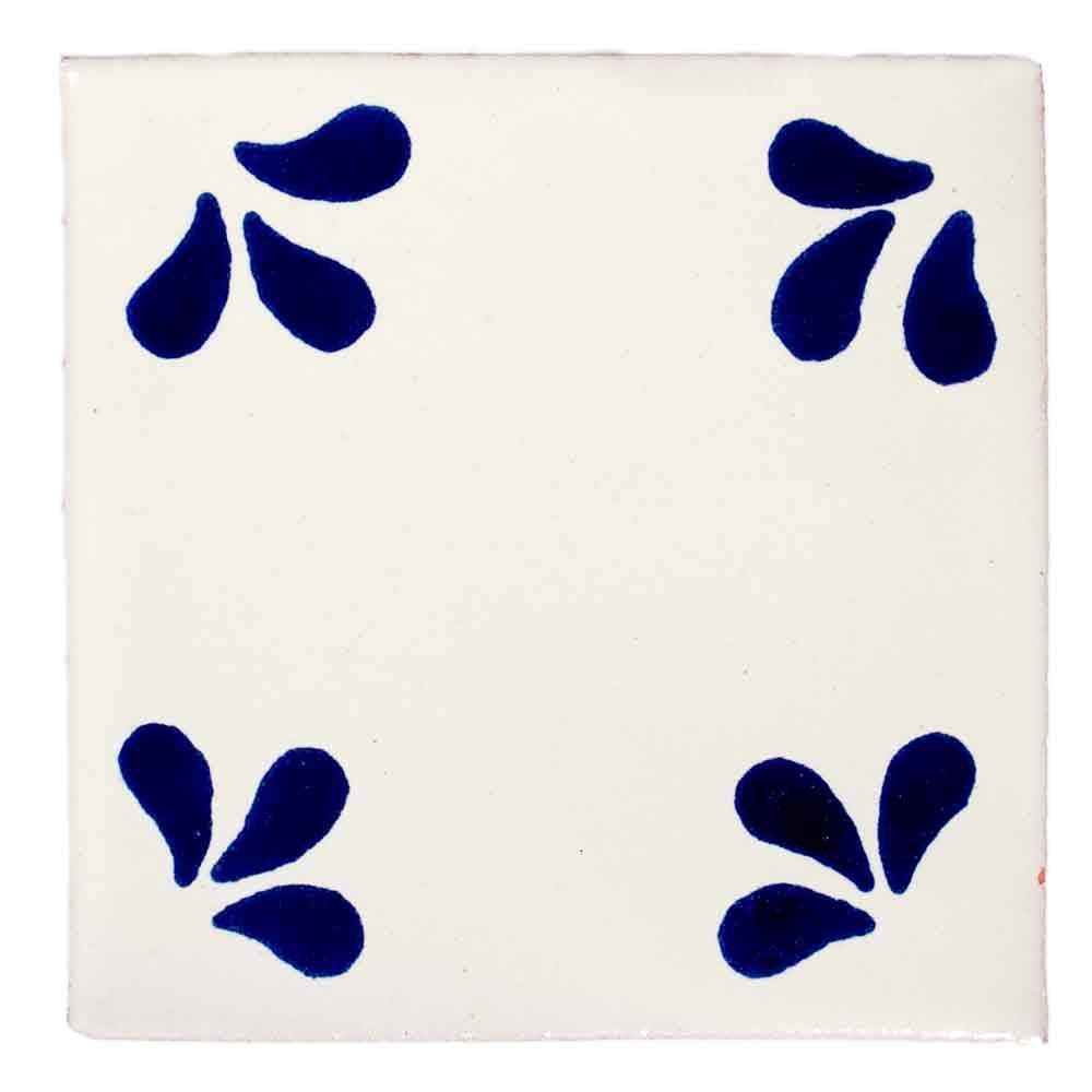 ville blue hand made tiles