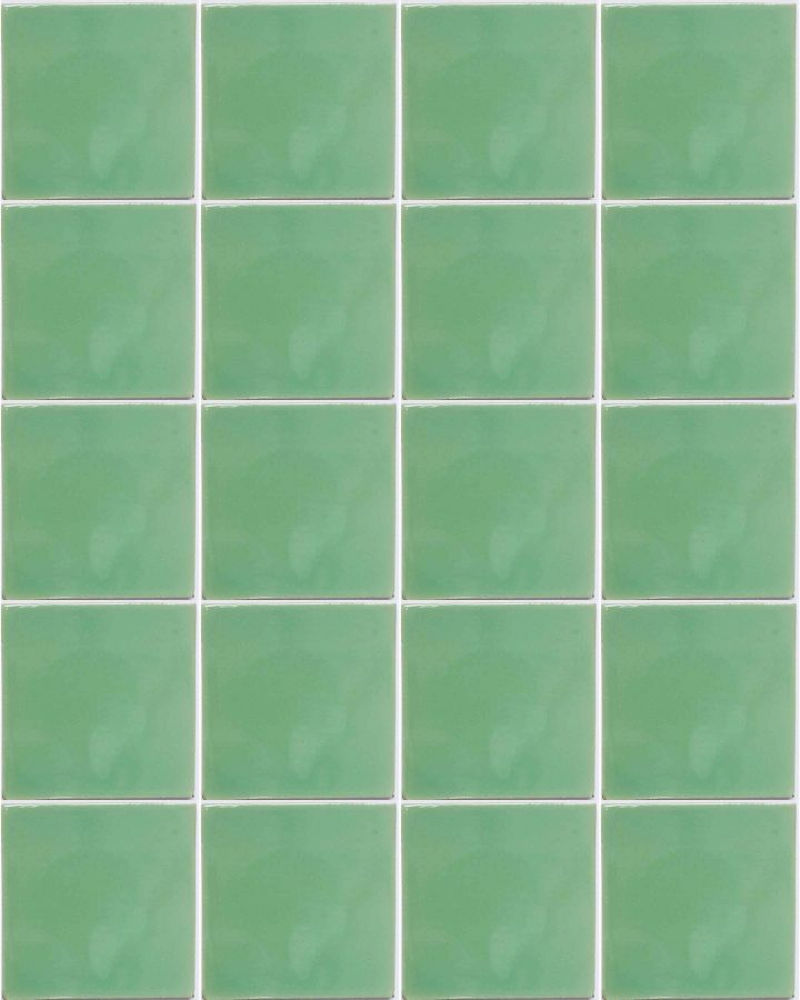 claro green hand made wall tiles