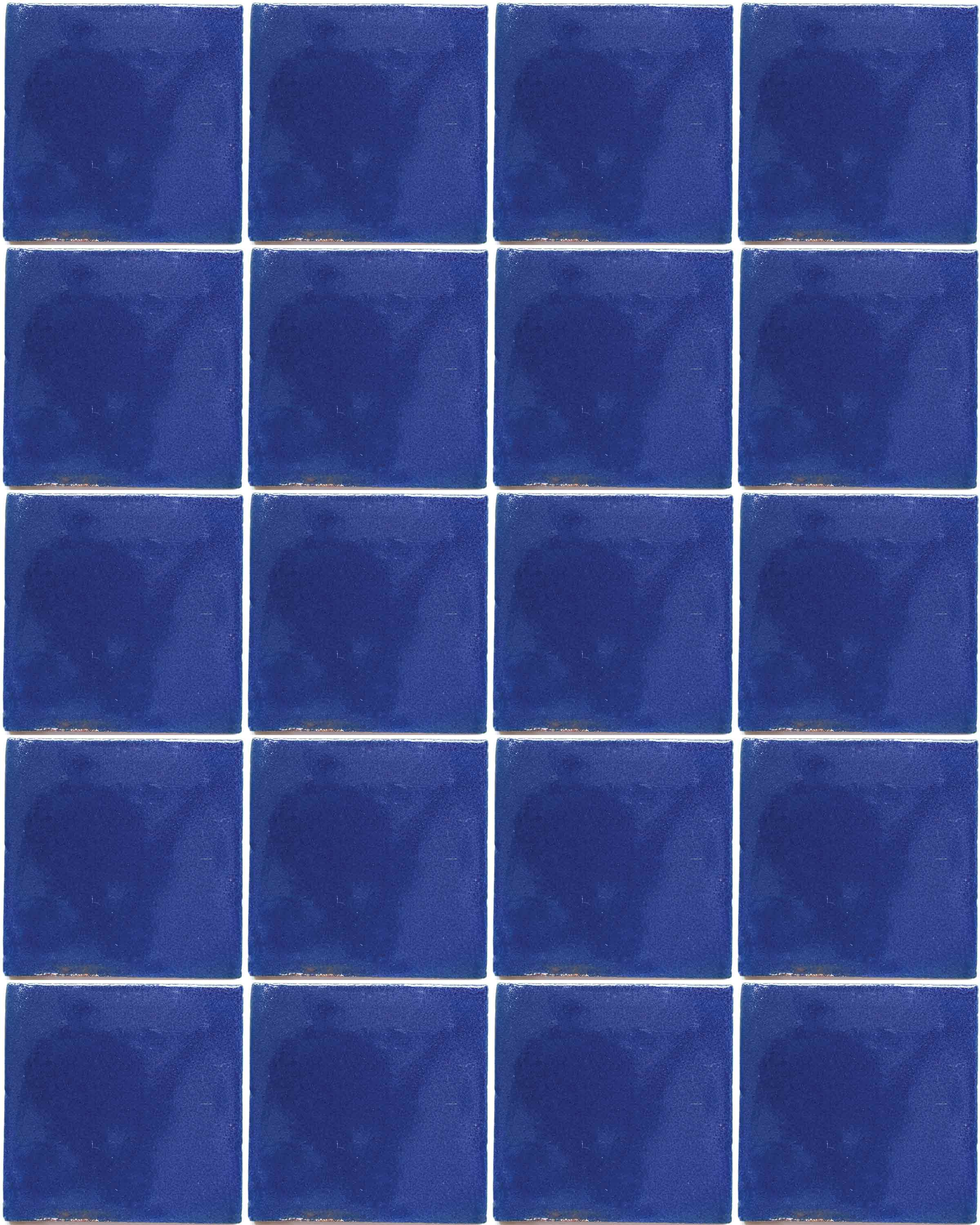 cobalt blue hand made tiles