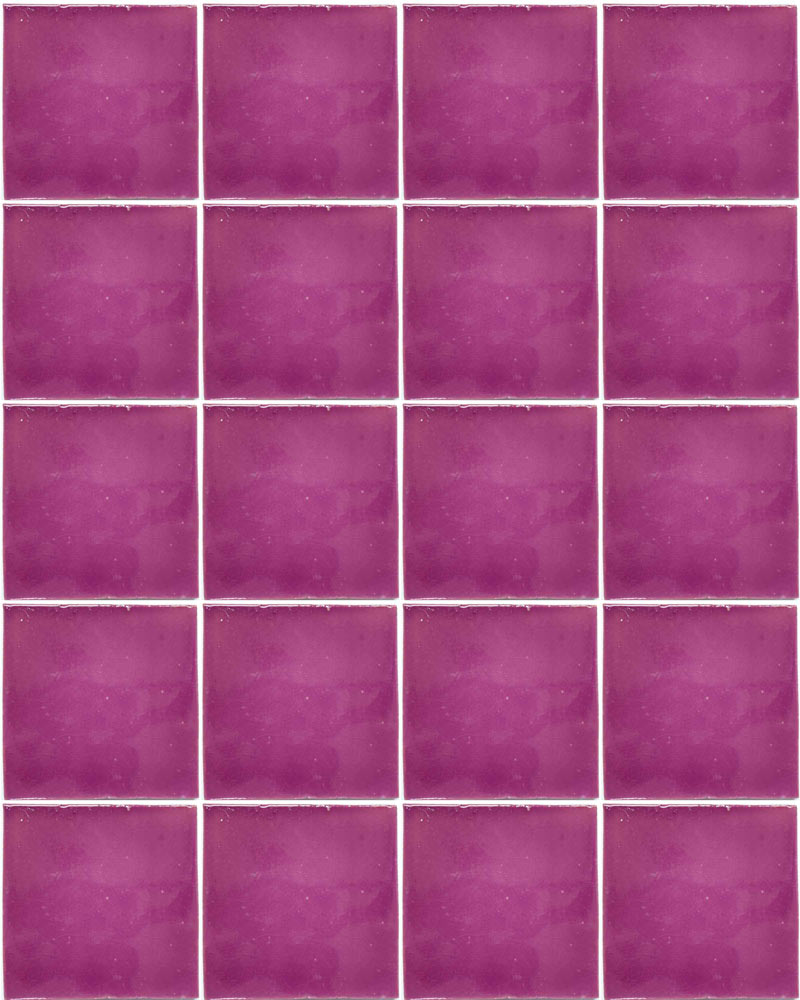 lilac hand made wall tiles