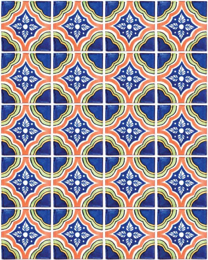 palacio multicoloured hand made tiles
