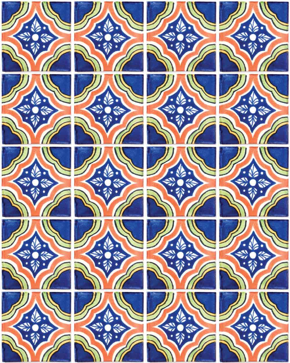 palacio multicoloured hand made tiles