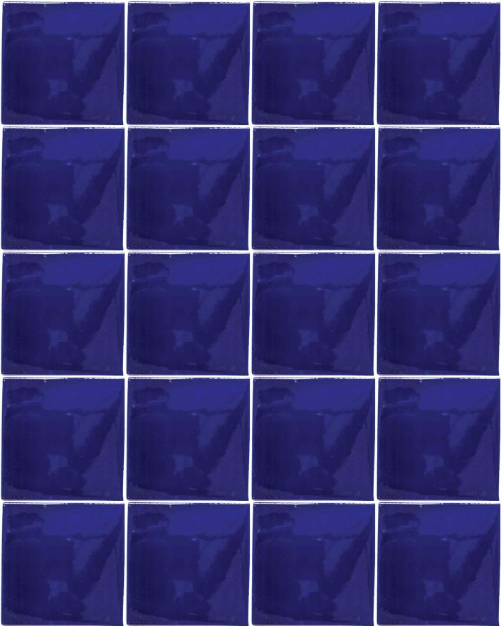 special blue hand made wall tiles