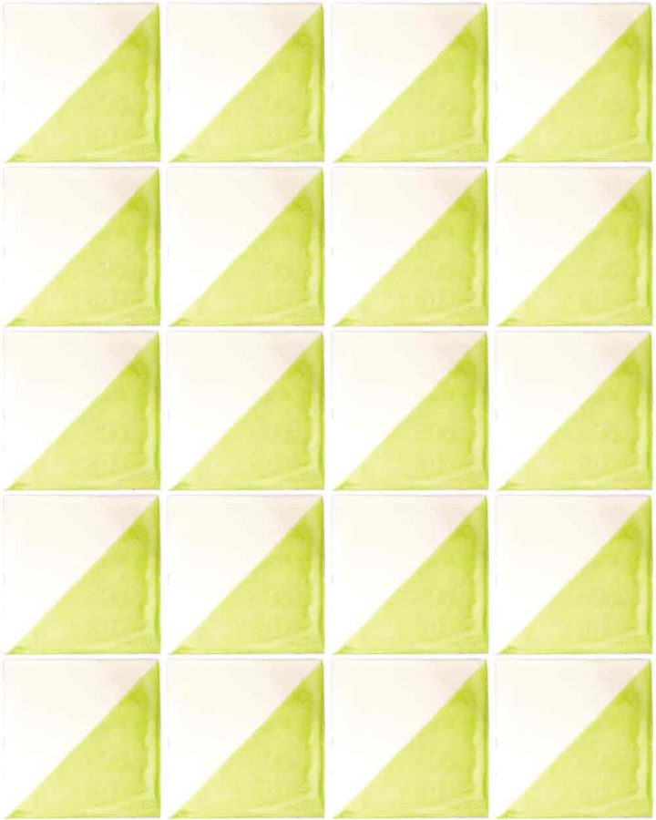 harlequin hand made wall tiles.
