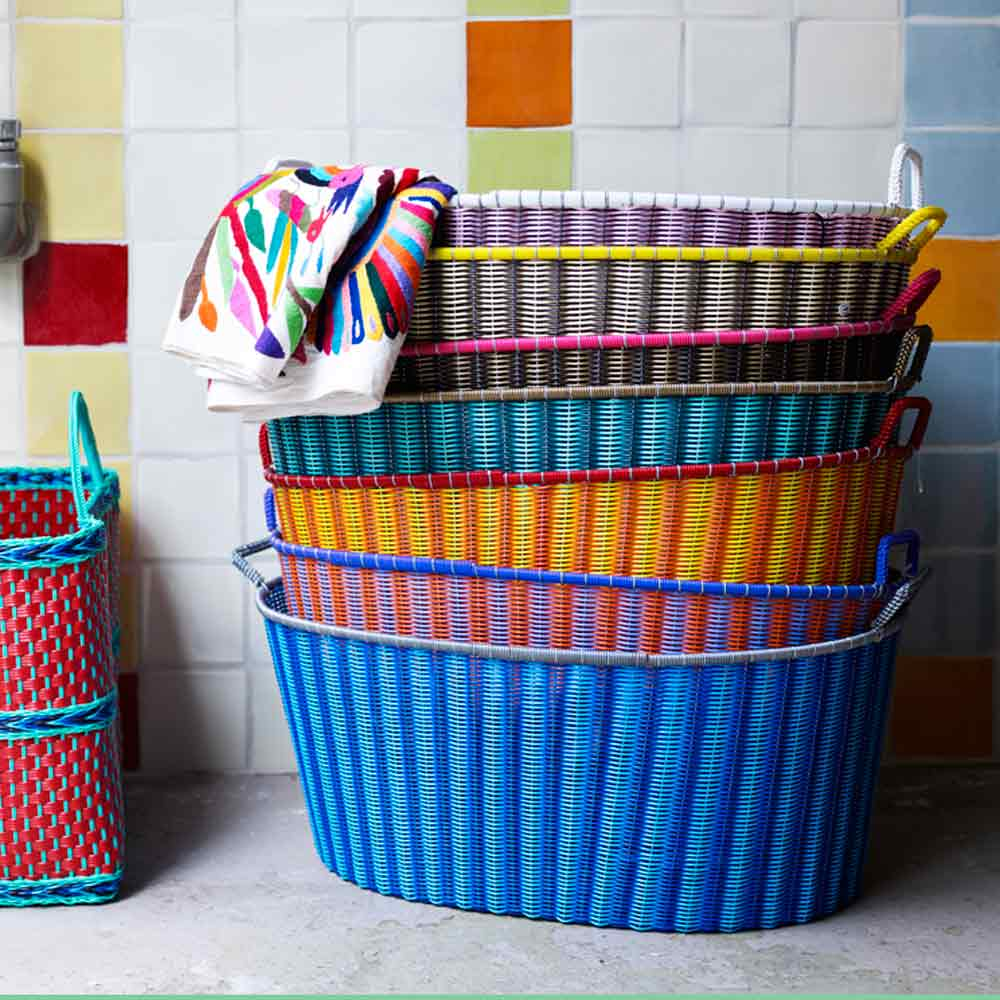 hand made ironing baskets from mexico