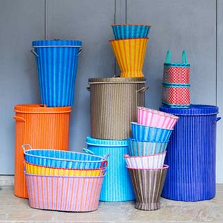 hand made laundry baskets