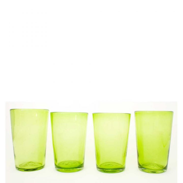 lime green flared tumbler.