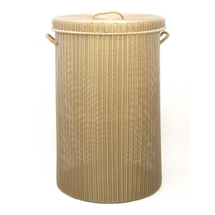 gold large family laundry basket