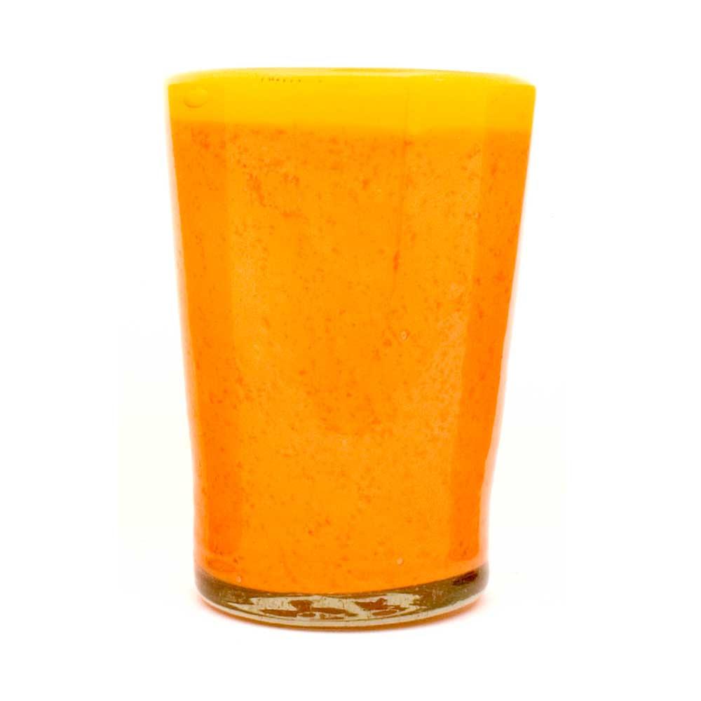 orange and yellow flared