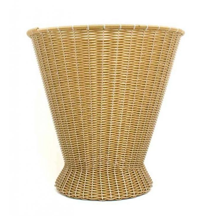 Gold paper basket