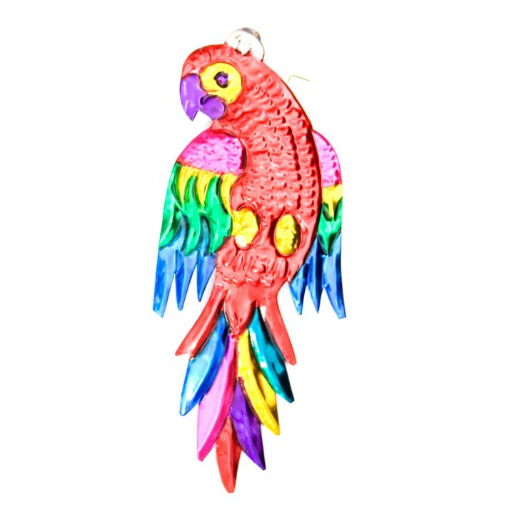 hand made mexican bird parrot