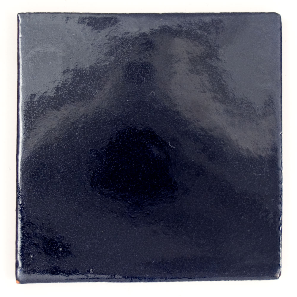 indigo mexican hand made tile