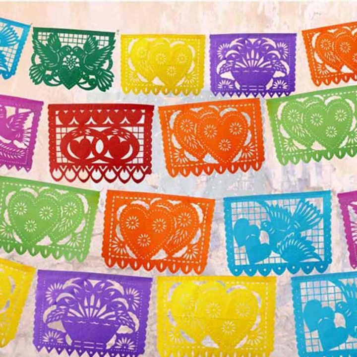 wedding papel picado