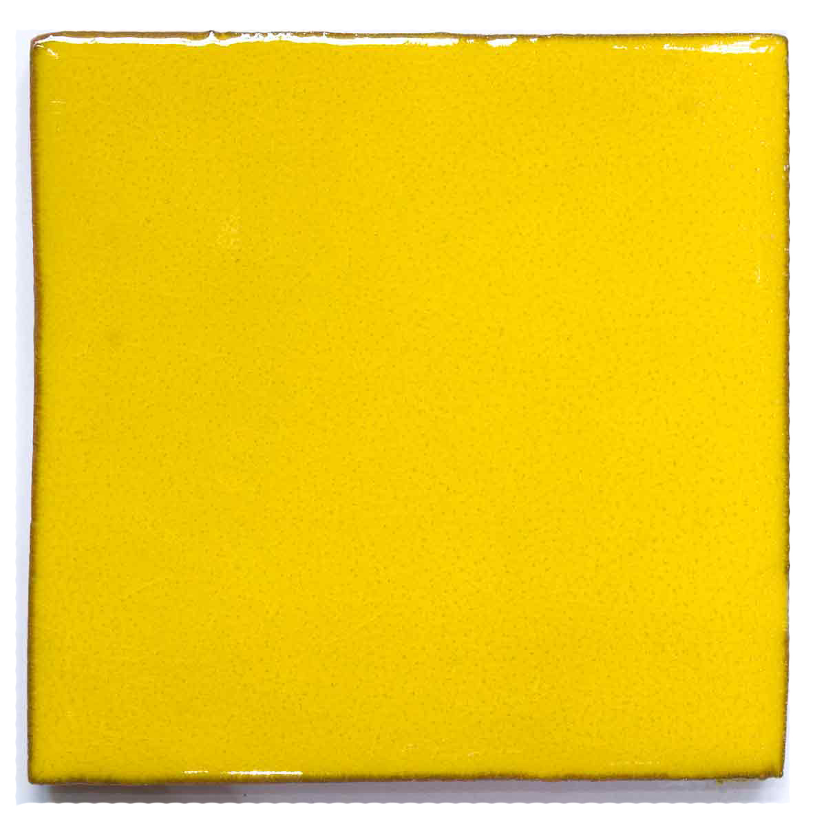 hand made yellow wall tiles