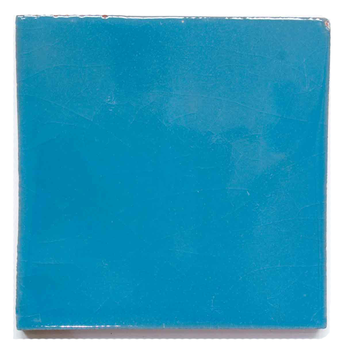 turquoise hand made tiles