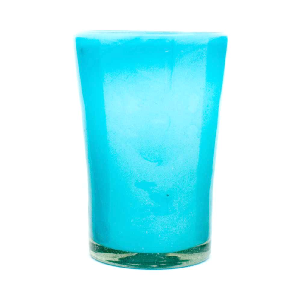 milky turquoise tumbler