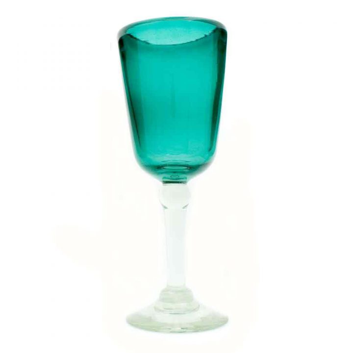 azul real wineglasses