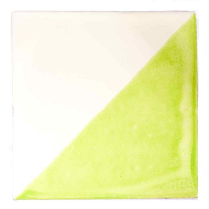 Harlequin lime green tiles