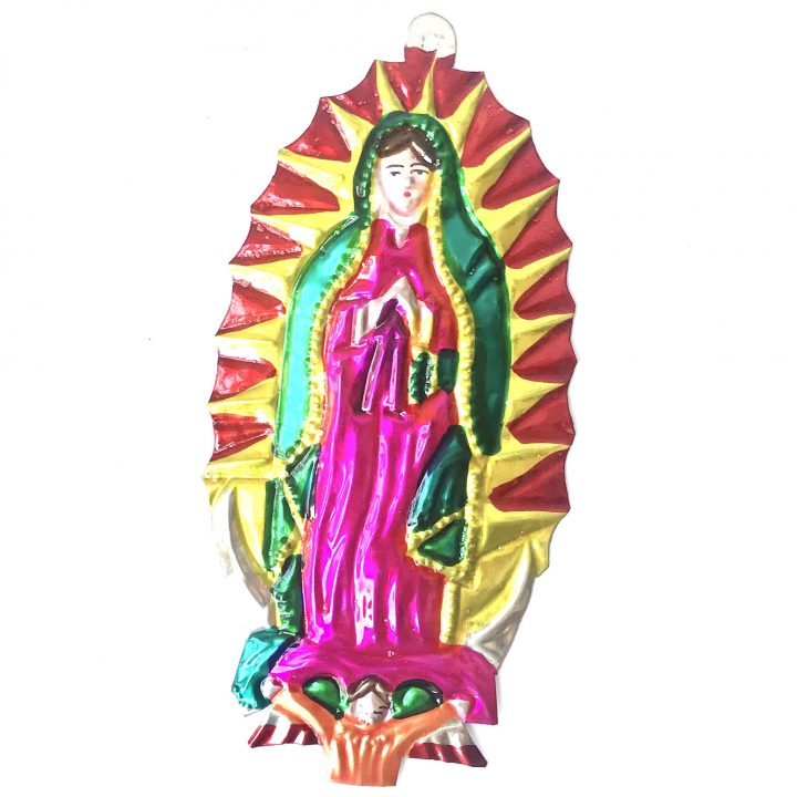 Tin virgin of Guadaloupe