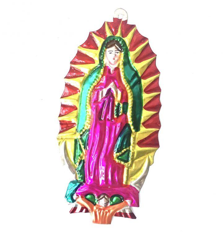 Tin virgin of Guadaloupe