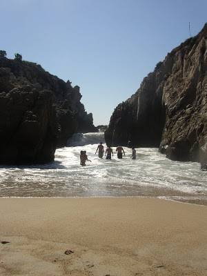 Maruata Pacific Coast Mexico