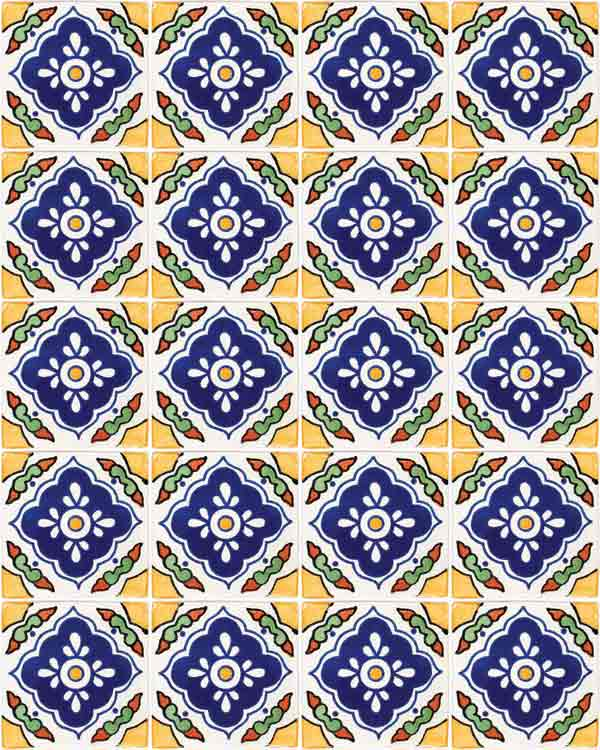 Guadalajarra hand made tiles