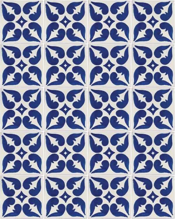 lyon green hand made tiles