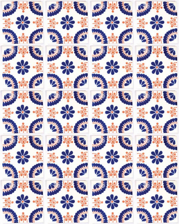 Madrid hand made tiles.