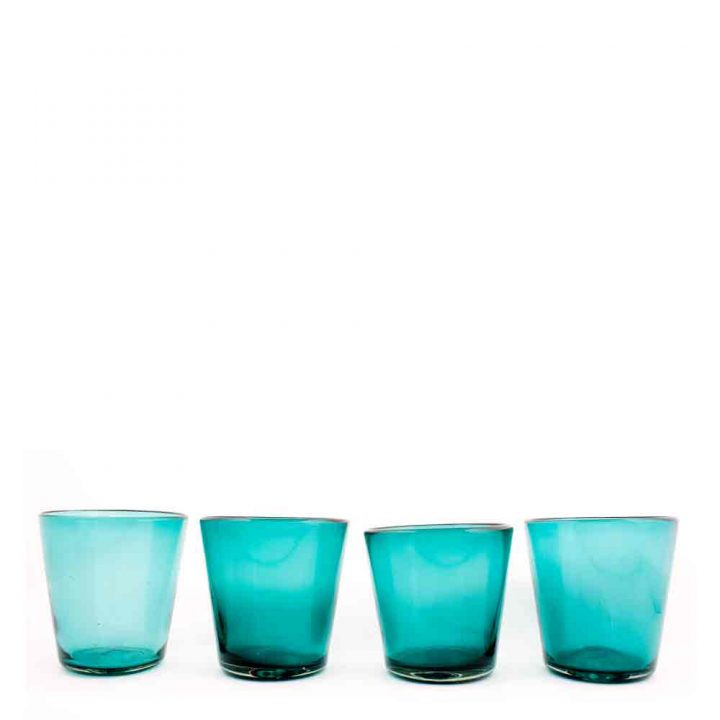 Azul real flared tumbler