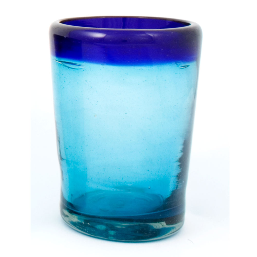 turquoise and blue tumbler - Milagros