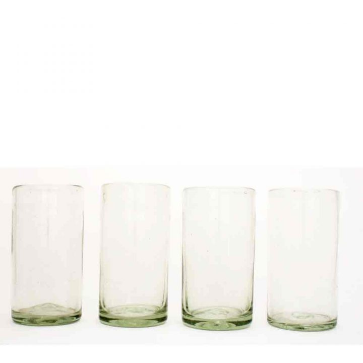 clear straight tumblers