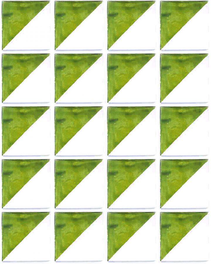 Harlequin old lime green tiles