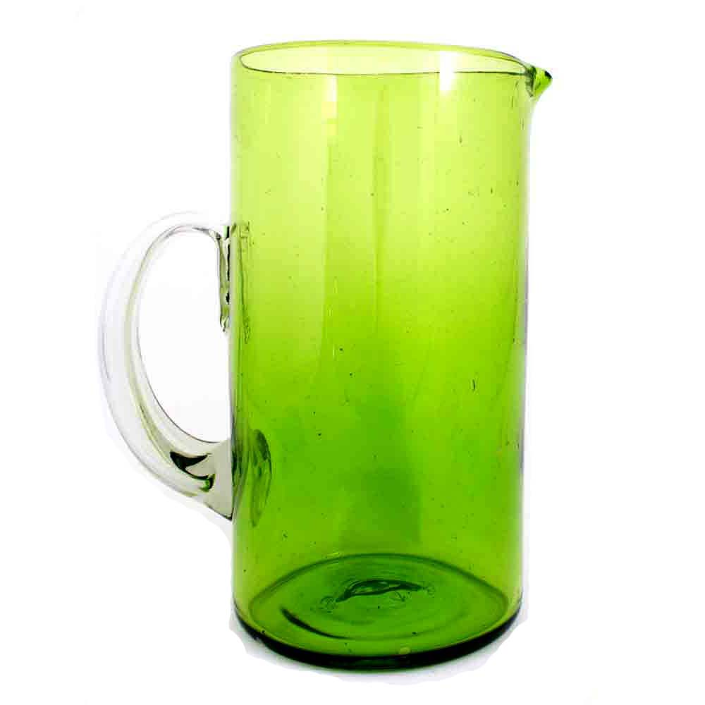 lime green straight jug