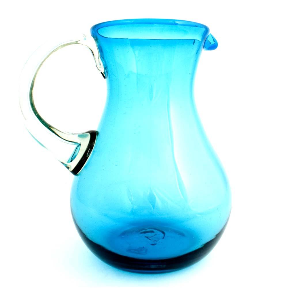turquoise pear jug