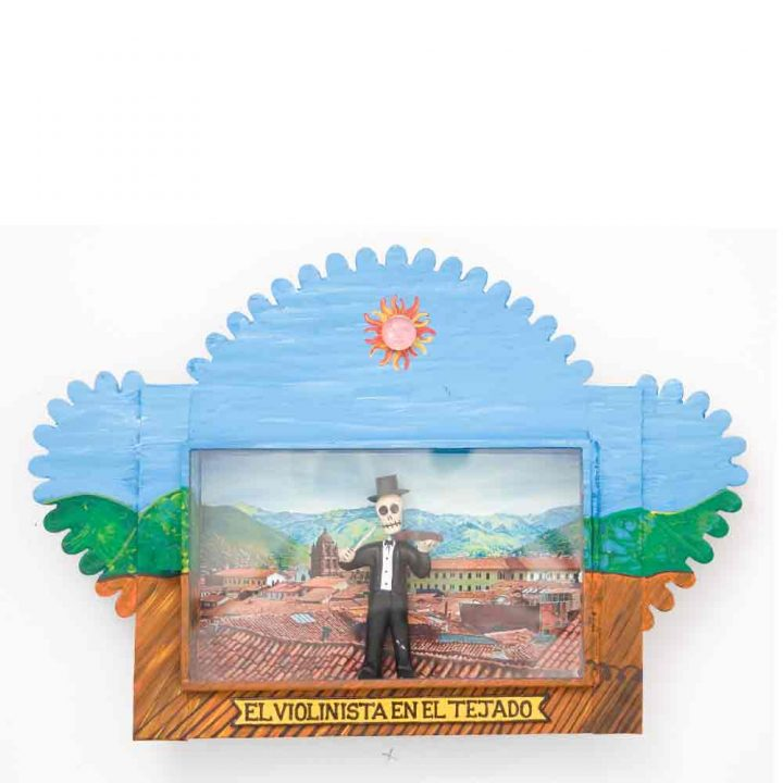 El violinista en el tejado Mexican niche